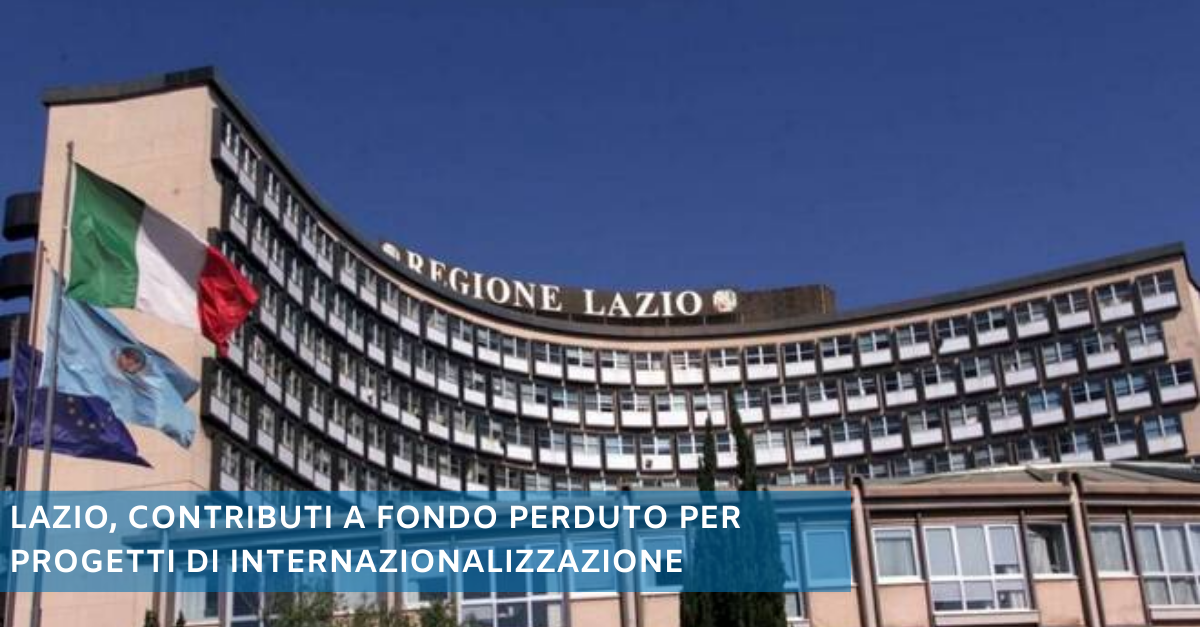 Lazio contributi
