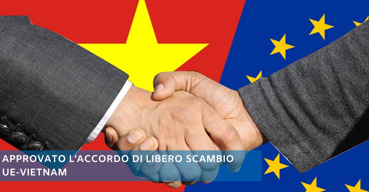 Accordo libero scambio UE Vietnam